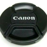 Lens Cap Tutup Lensa Canon 52 mm DSLR Prosumer Mirrorless 52mm