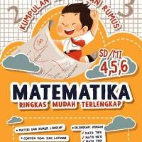 Kumpulan Materi dan Rumus Matematika SD/MI Kelas 4, 5, 6