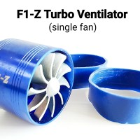 F1-Z Turbo Ventilator Single Fan Air Intake Supercharger Small