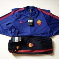 Original Nike Jaket Celana Bola Training AS ROMA BNWT