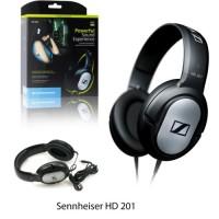 Sennheiser HD201/HD 201 Detail Monitoring Flat Headphone RESMI 2TH ORI