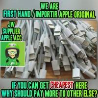 Jual Lightning Kabel Data Iphone 5 5s 6 6s 6+ Original Gojek OK Murah