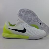 Sepatu FUtsal Nike MAgista X Finale II White Black Volt Replika Impor