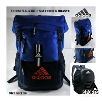 Jual Tas ADIDAS Backpack Black Blue Red Tracking / Tas Koper Cover Murah