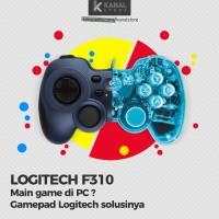 Stik Gamepad Joystick Kabel Logitech F310 for Game PC - Best Quality