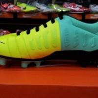 ORIGINAL - Sepatu Bola Nike CTR360 Libretto III FG Hijau Volt