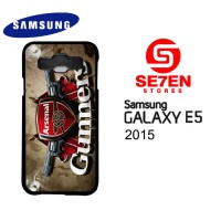 Casing HP Samsung E5 2015 Arsenal Custom Hardcase Cover