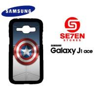 Casing HP Samsung J1 Ace Captain America Logo Custom Hardcase Cover