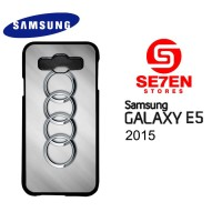 Casing HP Samsung E5 2015 audi logo Custom Hardcase Cover