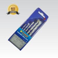 Mata Bor Beton Set 5 Pcs (4-10 MM) TORA (Top Quality) Mata Bor Set