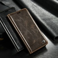 Flip wallet leather genuine Samsung galaxy S7 Edge