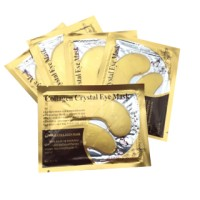 MASKER MATA CYSTAL COLLAGEN GOLD EYE MASK WARNA GOLD