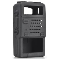 Silicone Case for Baofeng UV5R UV-5RA UV-5RB UV-5RC UV-5RD - Black