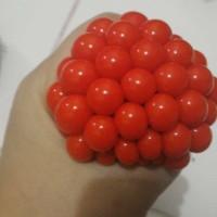 Ninja stress ball/Squishy Smash ball, mainan unik dipencet keluar bola