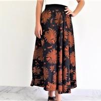 Jual Rok Batik Lebar Panjang Motif Padi Murah