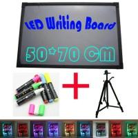 Jual LED WRITING BOART - PAPAN TULIS LED - PAPAN IKLAN - 50X70cm Murah