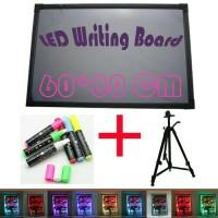 Jual LED WRITING BOARD - PAPAN TULIS LED - PAPAN IKLAN - 1SET 60X80cm Murah