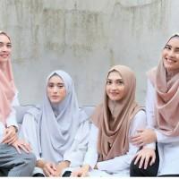 Jual UPDATE STOCK Jilbab Pashmina Instan (Hijab Bubble Instant Aisa) Murah