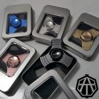 Jual Premium Hand Fidget Spinner Metal 3 Side | Tiga Sisi Metalik Gyroscope Murah