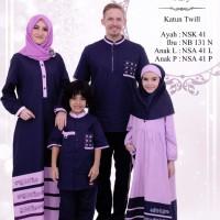 Busana Muslim Sarimbit Nibras Baru Family 41A