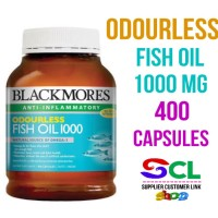 Blackmores Odourless Fish Oil 400 capsules