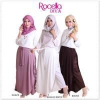 Rocella Rok Celana Diva Muslimah CHIFFONE KERJA/KULIAH Size XXL-XXXL
