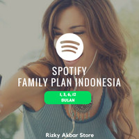 Jual Spotify Premium Family Plan Region Indonesia Murah