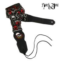Strap Gitar Bonus Pick Rock You S-320 Tali Gitar / Sabuk Gitar