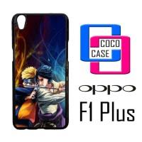 Casing Hp Oppo F1 Plus Naruto Vs Sasuke X4506