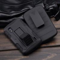 LG Google Nexus 4 POLICE Armor Sarung Jepit Sabuk Pinggang Case Casing