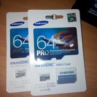 Memory Card MicroSD Card SDXC Samsung EVO Pro Ultra 64GB class 10