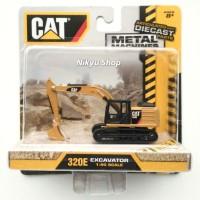 Jual Toy State CAT Caterpillar Metal Machines 320E Excavator Murah