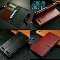 Lenovo Vibe K5 / K5 Plus Leather Case Flip Cover Wallet Hp