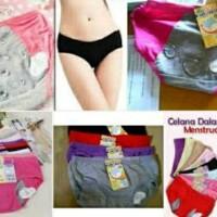 Celana Dalam Menstruasi Pembalut Kain Cuci Ulang Cd Mens