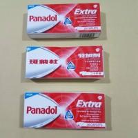 "PANADOL EXTRA ""ASLI"" with Optizorb 20 caplets/box"