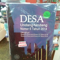 BUKU ORI DESA UNDANG-UNDANG NOMOR 6 TAHUN 2015 & PENUNJUK TATANUSA is