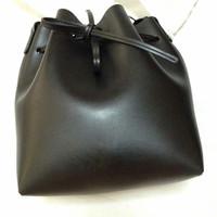 Tas Black-red Interior Lining Bucket Bag