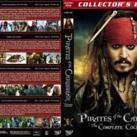 pirates of the caribbean dvd box set movie collection film koleksi