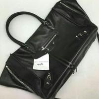 JUAL Tas Balenciaga Black SHW 28cm Grained Leather Mirror Quality