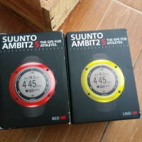 ORIGINAL SUUNTO AMBIT 2S HR LIME & RED