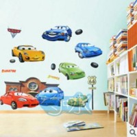 Wall Sticker Stiker Dinding Seri Film Animasi Kartun The Cars McQueen2