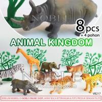 Figure Animal Kingdom/Hewan Hutan/Jungle-Zoo-Toy-Mainan-Pajangan-VB217