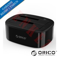 "ORICO 6228US3-C USB3.0 Dualbay Docking Station for HDD/SSD 2.5"" & 3.5"""