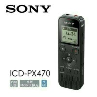 Voice Recorder Sony ICD-PX470 - Black / New Product