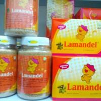 Lamandel Obat Herbal Amandel Murah Kemasan Kotak Sachet