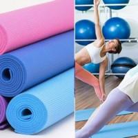 Jual Matras Yoga Senam + Tas Murah