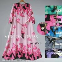 GAMIS LONGDRESS TERUSAN PANJANG MUSLIM VIRGON DRESS