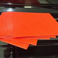 elegan lego base plate red original 32x32 cocok buat kado