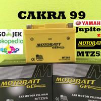 Aki Yamaha Jupiter Z semua type Motobatt MTZ5S aki motor gel kering MF