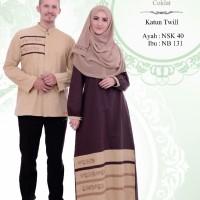 Busana Muslim Sarimbit Nibras Couple Family 40